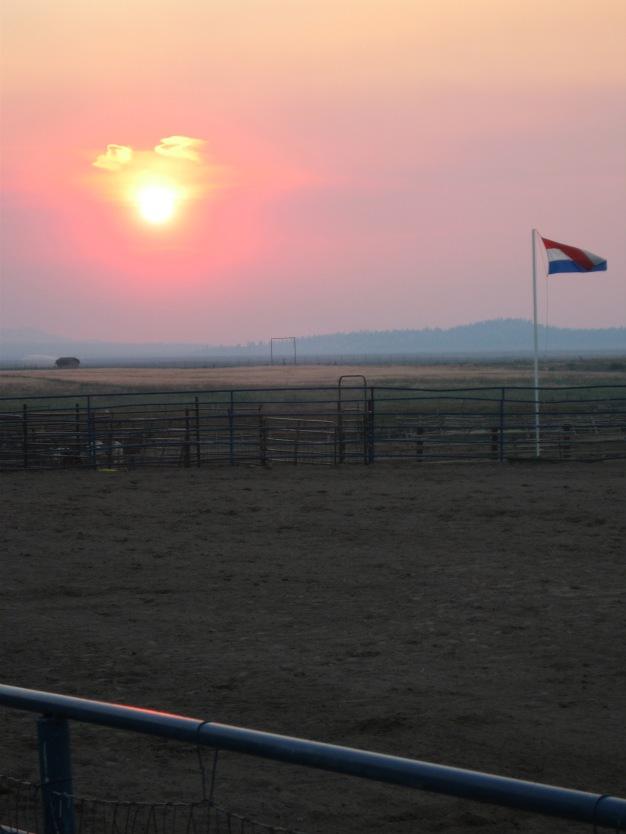 7-19 Utah setting sun