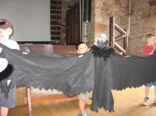 7-20 Aidan volunteers condor ranger talk resized