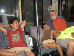 7-22 Crazy kids & Mike shuttle resized