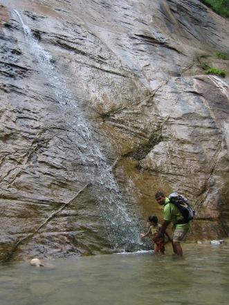 7-23 Aidan & Neerav waterfall