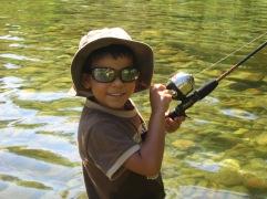 7-28 Aidan fishing CU