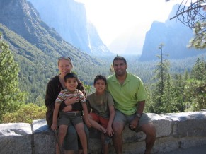7-28 Group Yosemite Valley view resized