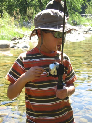 7-28 Nathan fishing CU
