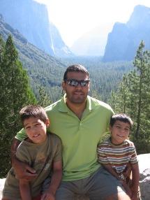7-29 Boys Yosemite Valley