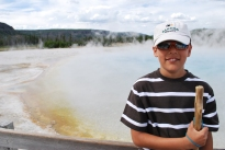 8-11-10 Nathan at Black Sand Basin