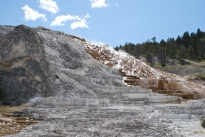 8-12-10 Lower Terraces Mammoth Hot Springs