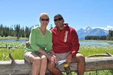 8-14-10 Shellie & Neerav Heron Pond