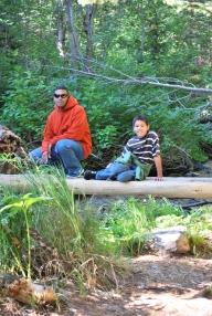 8-15-10 Neerav & Nathan Moose Ponds