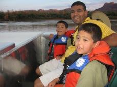 7-15 Boys boat