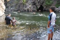 8-10-10 Boys at Firehole River