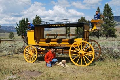 8-12-10 Boys & Nilla stagecoach