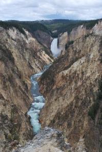 8-13-10 Lower Falls canyon rock