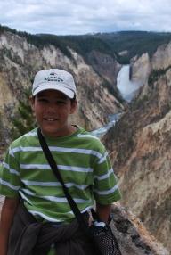 8-13-10 Nathan Lower Falls canyon