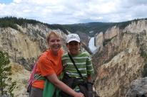 8-13-10 Shellie & Nathan Lower Falls canyon
