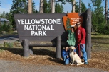 8-14-10 Boys Yellowstone sign
