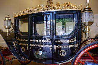 The Australian Coach was a gift to the Queen from Australia on it's Bicentennial in 1988.