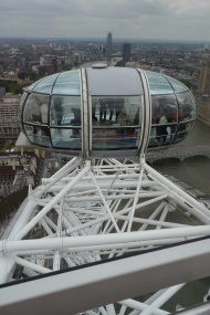 The London Eye is like a space-age Ferris wheel. It's also completely wheelchair-accessible.