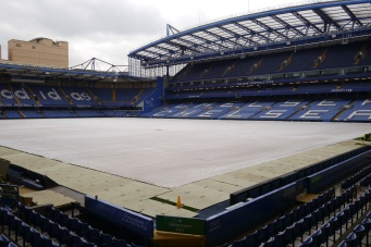 The good seats at Stamford Bridge.