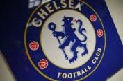 Chelsea FC logo.