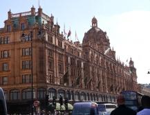 Famous Harrods department store