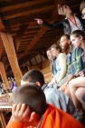 The tour at the Globe was not our favorite...