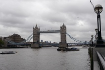 Tower Bridge, often misidentified as London Bridge.