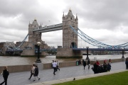 The Tower Bridge really is a beautiful span.
