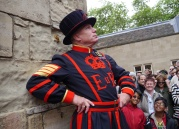Our Yeoman Warder's names was Bob.