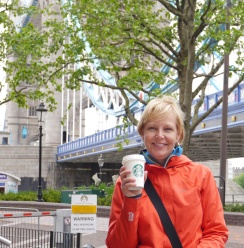 Part of my goal to drink Starbucks around the world. London - check!