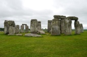 There's something very eerie and mysterious about circling Stonehenge.