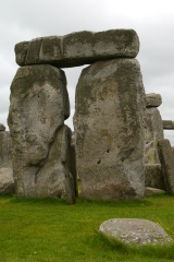 Each large rock weighs the equivalent of seven elephants!