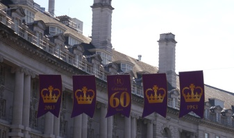 Celebrating the Queen's 60 years as monarch.