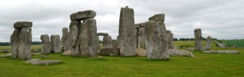 """Henge means hanging, so these are the """"Hanging Stones."""""""