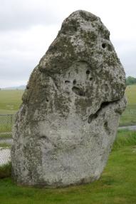 The Heel Stone, Stonehenge's famous outlier.