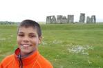 Aidan was really dug Stonehenge!