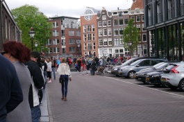 Yes, we should have gotten to the Anne Frank House earlier!