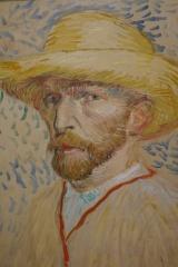 Self-portrait with Straw Hat.