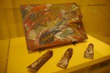 Van Gogh's actual paints.