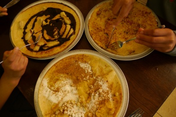 Dutch pancakes are always a winner with this family!