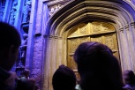 These are the doors to the Great Hall inside Hogwarts School of Witchcraft and Wizardry.