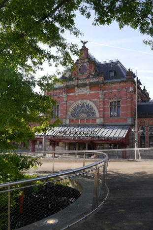 Central train station in Groningen