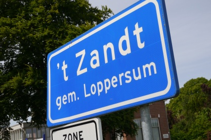 Some of our ancestors are from this town, 't Zandt.