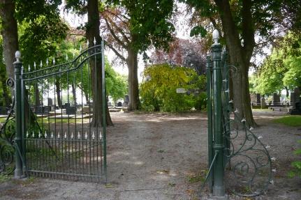 Cemetery in Godlinze