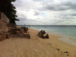 Beach at the Dar es Salaam Yacht Club