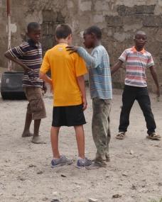 Boy assigns Aidan to team.