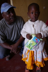 FASDO director with young girl
