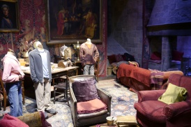 A look inside the Gryffindor Common Room.