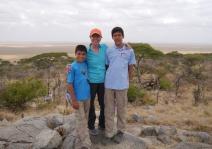 Aidan, Shellie, and Nathan arrive in the Serengeti.