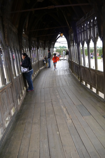 Aidan runs the bridge that Neville and friends blew up in the Deathly Hallows, Part 2.