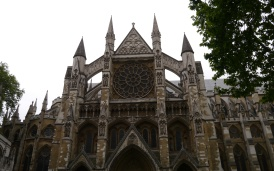Westminster Abbey, the site of Queen Elizabeth II's coronation and the wedding of Prince William and Kate.